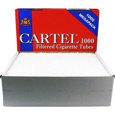 Сигаретные гильзы Cartel Megapack (1000 шт)