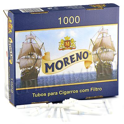 Сигаретные гильзы Moreno - 1000 шт. (В жесткой коробке)