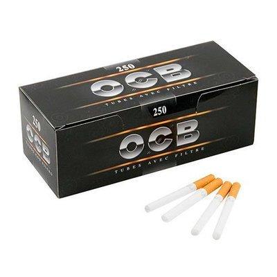 Сигаретные гильзы OCB Black (250 штук)