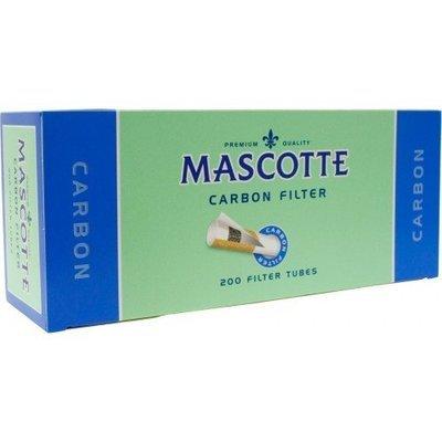 Сигаретные гильзы Mascotte Carbon Filter (угольные) - 200 ШТУК
