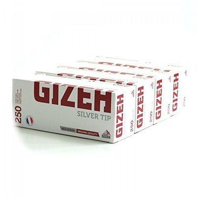 Сигаретные гильзы Gizeh Silver Tip с фильтром 250 шт