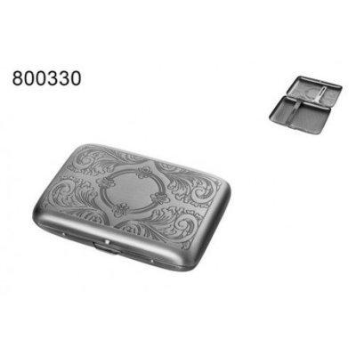 Металлический портсигар c рисунком  800330