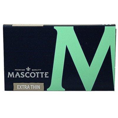 Бумага самокруточная Mascotte Extra Thin 100 (магнит)