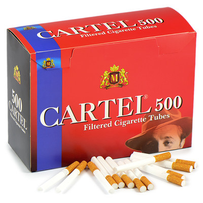 Сигаретные гильзы Cartel - (500 шт.)