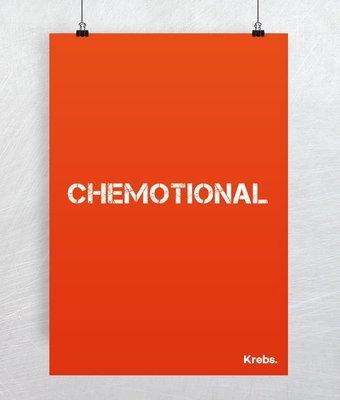 "Plakat ""Chemotional"""
