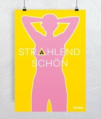 """Plakat """"Strahlend schön"""""""