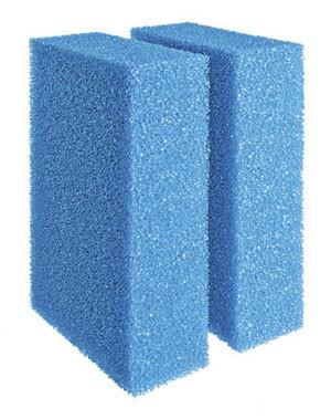 Filterplattor blå, Screenmatic 60/140 2-p
