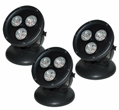 AquaForte LED light 3-pack 12 W