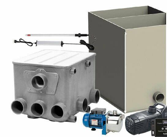 AquaForte Trumfilterset inkl. Biochamber