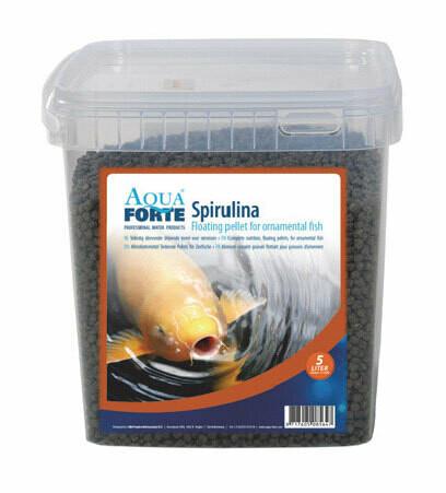 Färgfoder Spirulina 5 liter