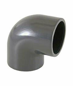 PVC limböj 90° - 50 mm