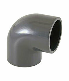 PVC limböj 90° - 110 mm