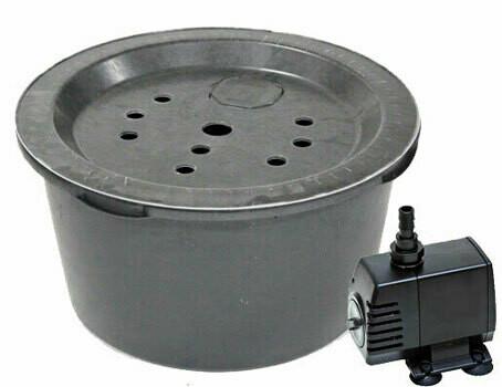 Springbrunn 66 l. inkl. pump