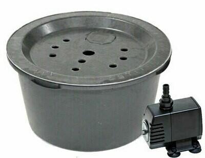 Springbrunn 90 l. inkl. pump