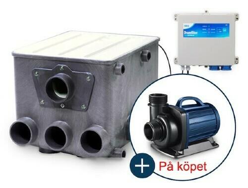 AquaForte Trumfilter + pump.