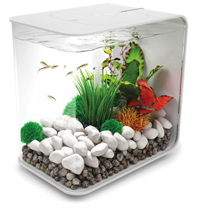 BiOrb Flow 30 LED Akvarium Vit