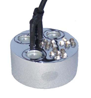 Rökmaskin 3 utblås & LED