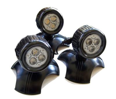 LED Spot Power 3 watt 3-pack