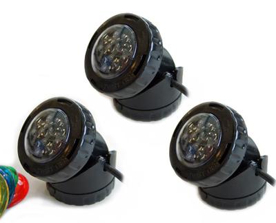 Aqualight LED Spot 3-pack