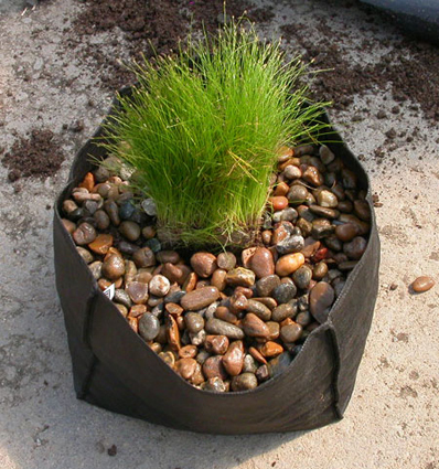 Planteringspåse mellan