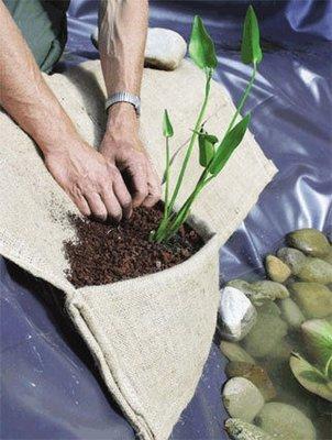 Oase Planteringsfickor jute