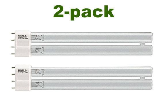 Aquaforte UV-C lampor 55 w. 2-pack.