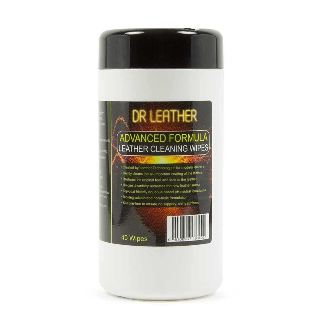 DR LEATHER LEATHER CLEANING WIPES 40
