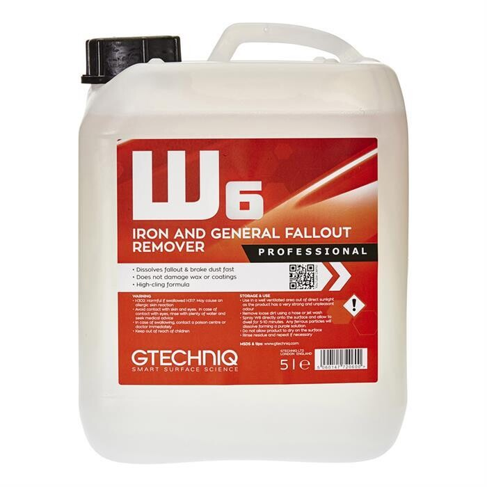 W6 IRON & GENERAL FALL OUT REMOVER (5L)