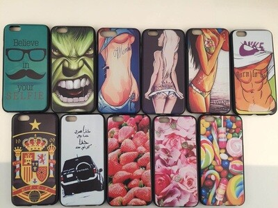 Apple iPhone 7 ( 4.7 ) Novel Pattern Jelly Case