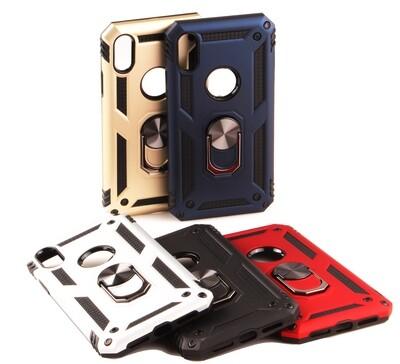 Apple iPhone 6 7 8 Thor Tough Back Case ( Grip & Magnet )