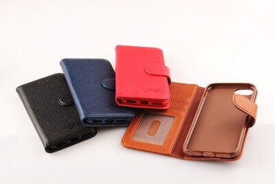 Samsung A72 ( 4G / 5G ) Fashion Plain Book Case