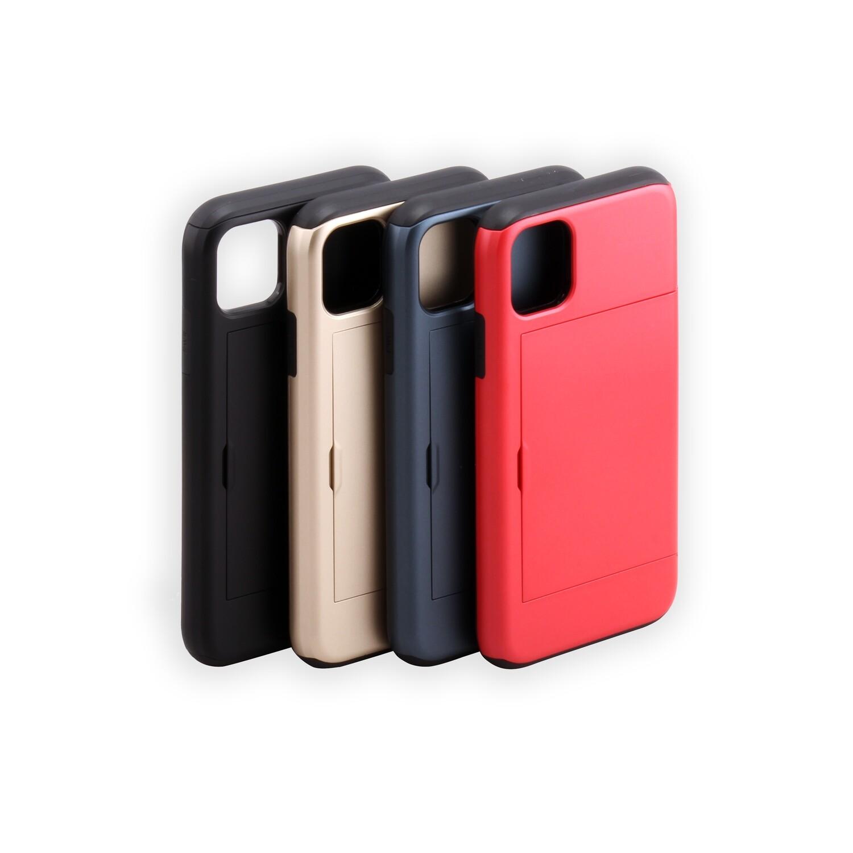 Apple iPhone 11 (6.1 inch) sliding card holder case