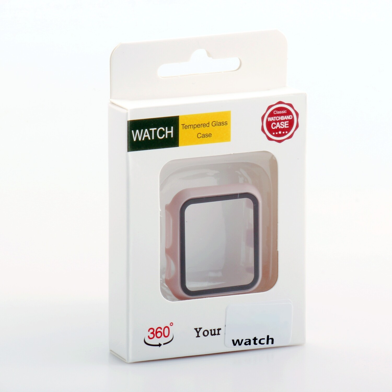 Apple Watch ( 38mm) Tempered Glass Case