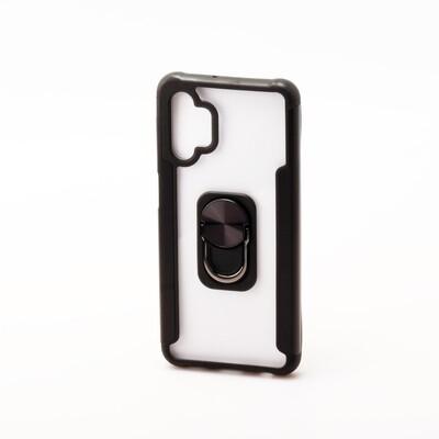 Samsung A32 (5G) Clear Iron Back Case (Grip & Magnet)