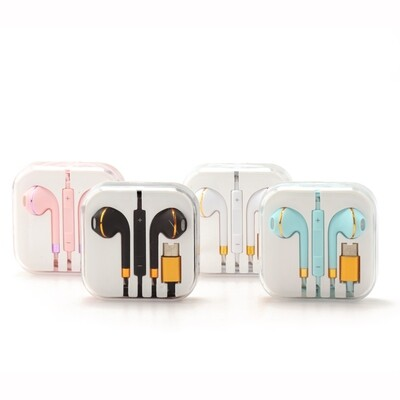 Earphone with Type C Remote ( Colorful )