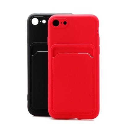 Apple iPhone 7 Plus / 8 Plus ( 5.5 ) TPU Card Slot Case