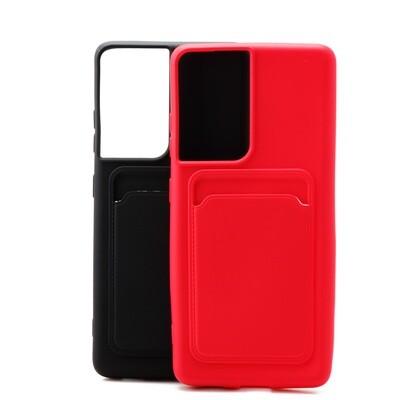 Samsung S21 Ultra TPU Card Slot Case