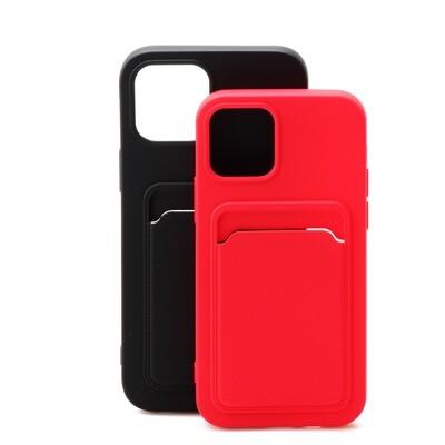 Apple iPhone 12 Pro Max ( 2020 6.7 ) TPU Card Slot Case