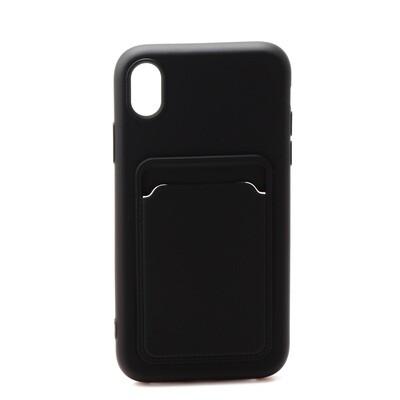 Apple iPhone XR ( 2018 6.1 ) TPU Card Slot Case