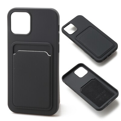 Apple iPhone 12 / 12 Pro ( 2020 6.1 ) TPU Card Slot Case