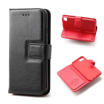 Apple iPhone 6 / 6s / 7 / 8 / SE 2020 ( 4.7 ) Flip Wallet Case With 6 card holder