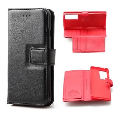 Samsung S21 Ultra Flip Wallet Case With 6 card holder