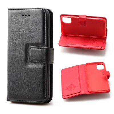 Apple iPhone 11 ( 2019 6.1 ) Flip Wallet Case With 6 card holder