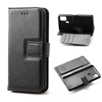 Samsung A21S Flip Wallet Case With 6 card holder