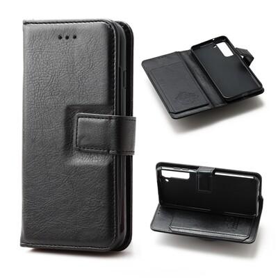 Samsung S21 FE Flip Wallet Case With 6 card holder