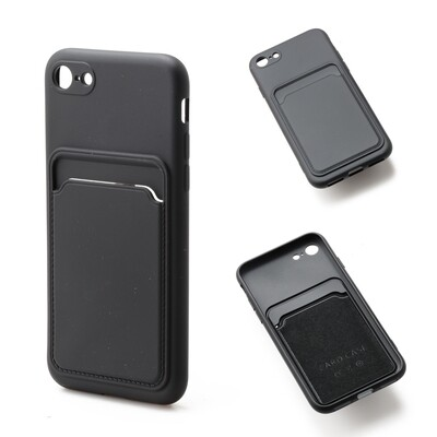 Apple iPhone 7 / 8 / SE 2020 ( 4.7 ) TPU Card Slot Case
