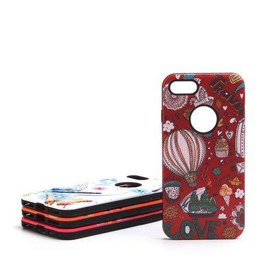 Apple iPhone 6 Plus / 6s Plus / 7 Plus / 8 Plus ( 5.5 ) 3D Drops ShockProof Back Case