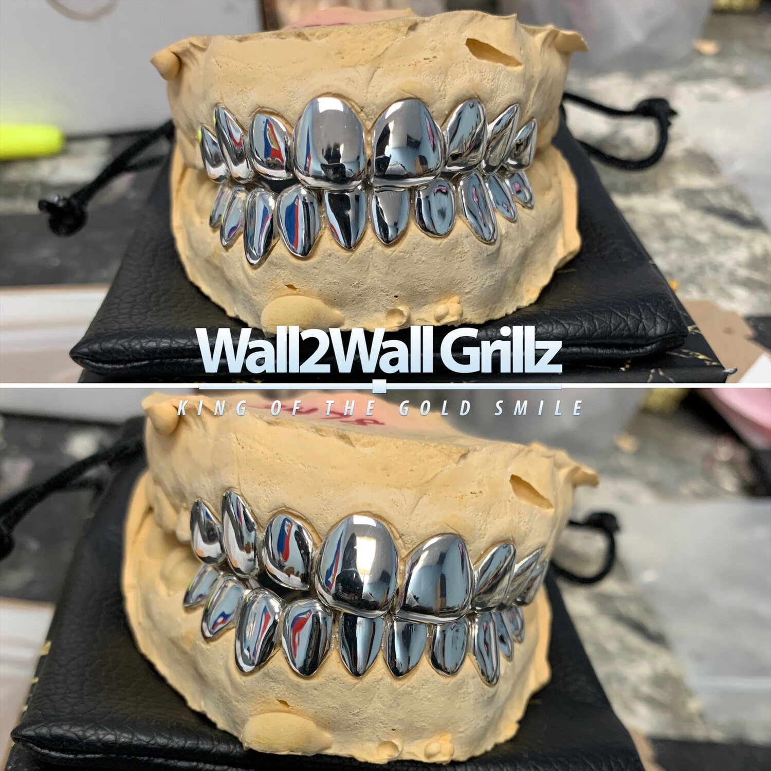 Silver Grillz ($30 Per Tooth)