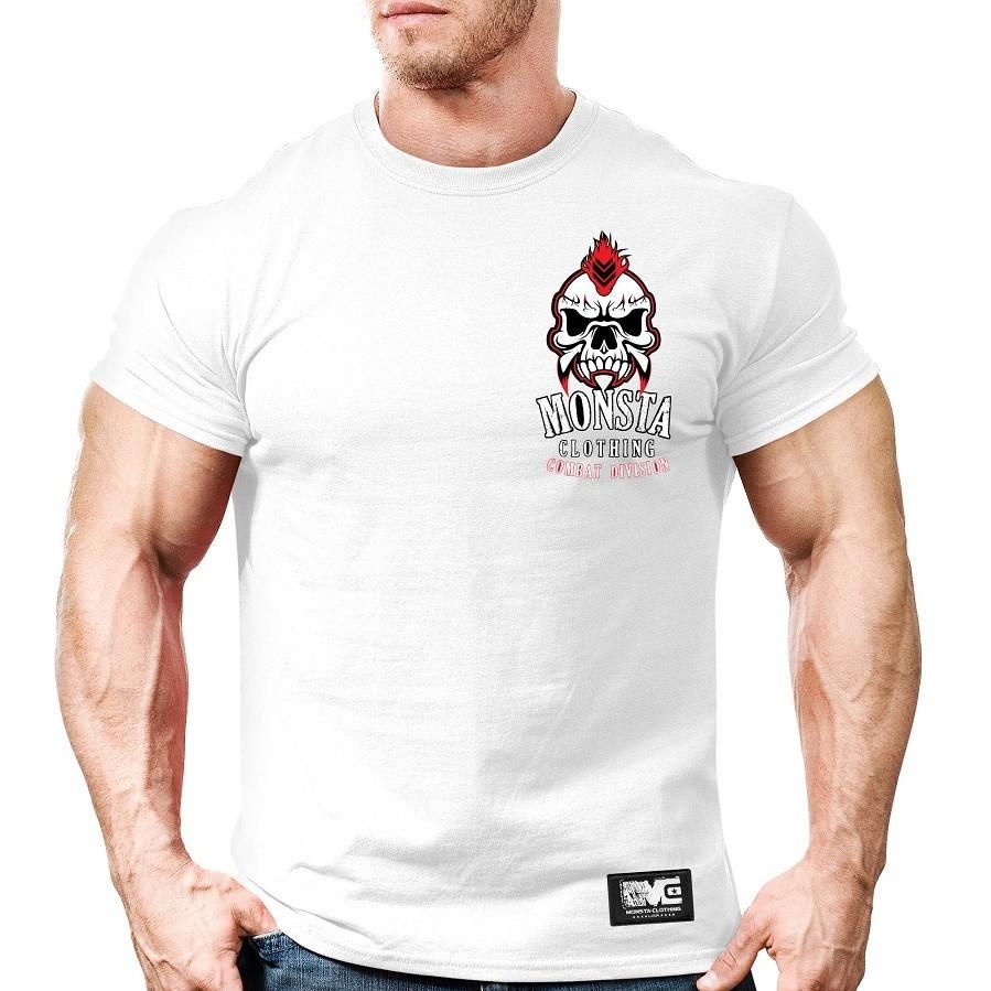 Мужская спортивная футболка Monsta Combat Skull