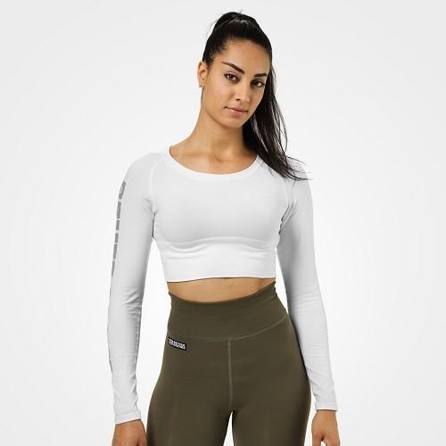Спортивный женский топ с длинным рукавом Better Bodies Bowery Cropped LS